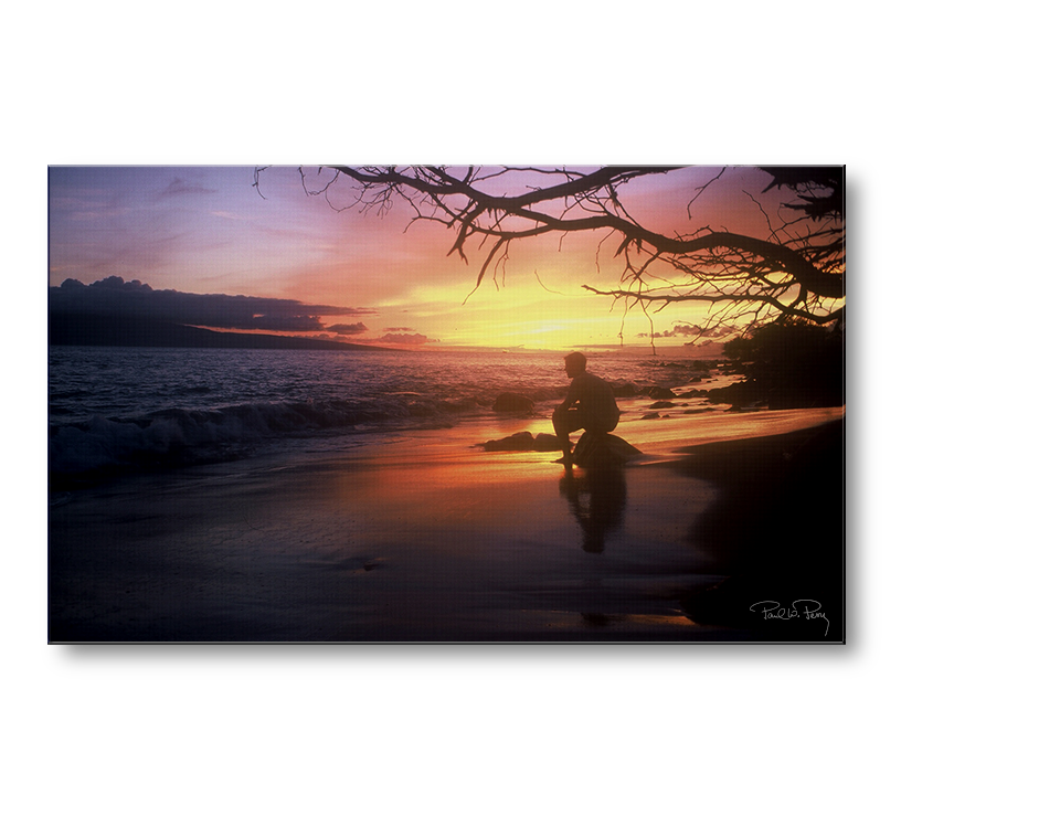 Sunset near Lahaina, Maui Photograph
